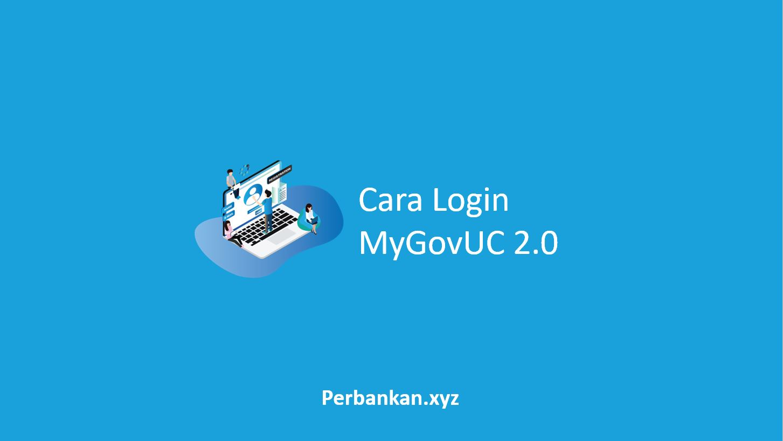 Cara Login MyGovUC
