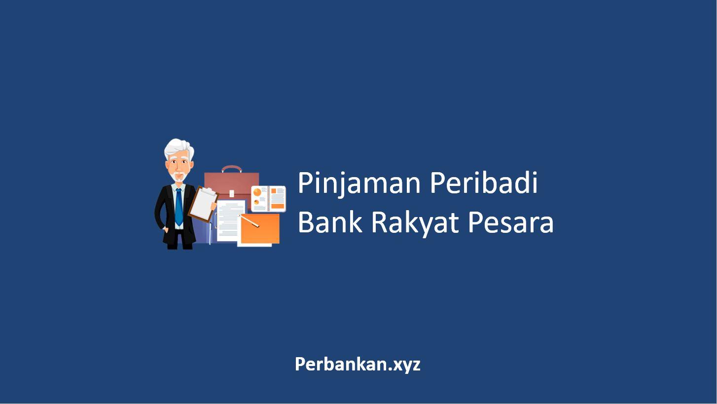 Pinjaman Peribadi Bank Rakyat Pesara