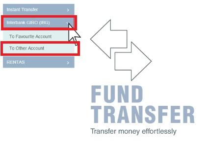 Cara IBG Transfer Public Bank Internet Banking