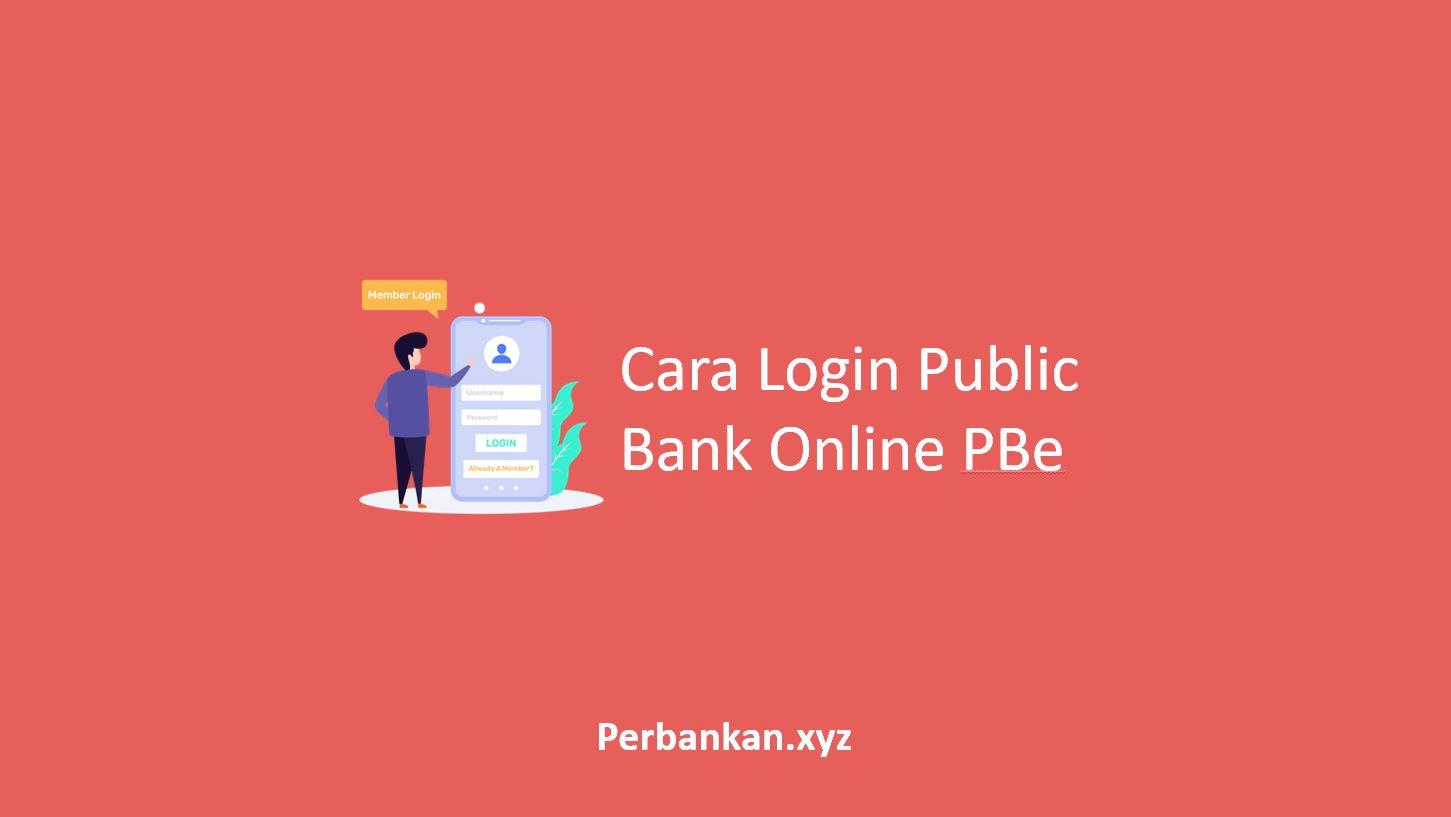 Cara Login Public Bank Online