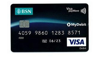 Debit Credit Card MyBSN