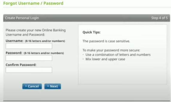 Forgot Password dan Username Standard Chartered