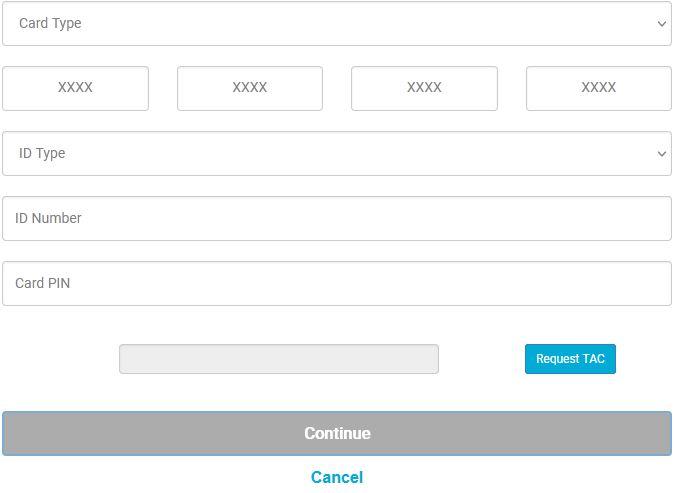 Forgot Username Affin Bank Online