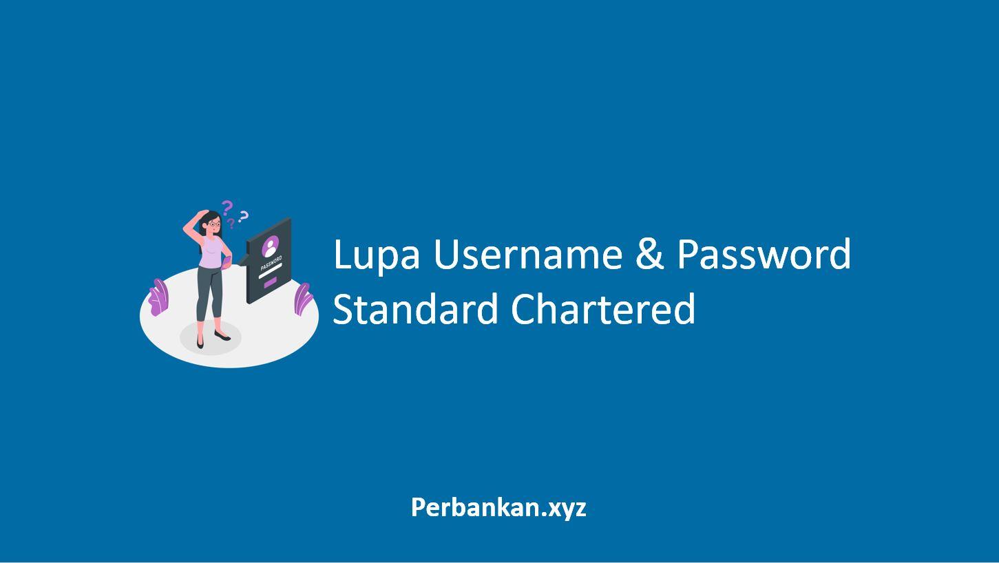 Lupa Username dan Password Standard Chartered