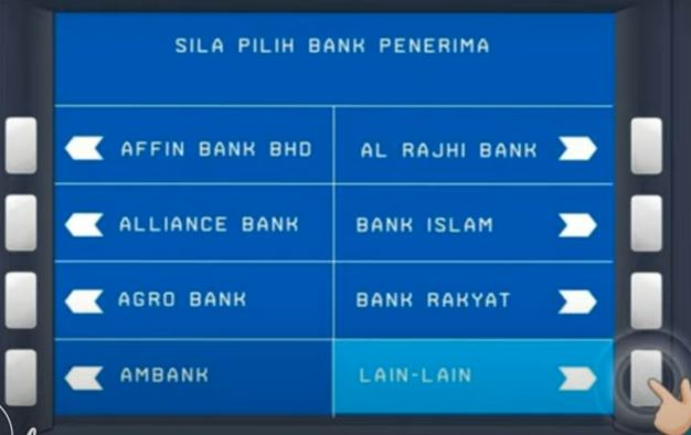 Senarai Bank Penerima BSN