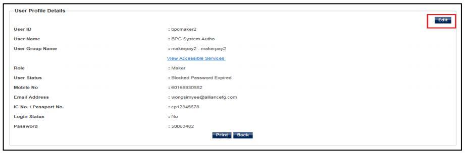 Step 4 Forgot Password Alliance Bank