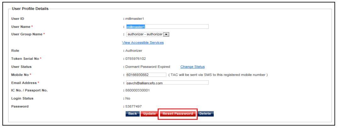 Step 5 Forgot Password Alliance Bank