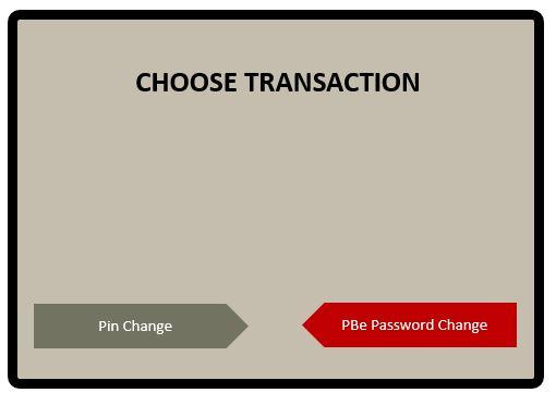 Tetapkan semula Username dan Password PBe via ATMs
