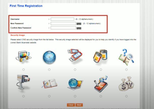 Username dan Password Bank Muamalat
