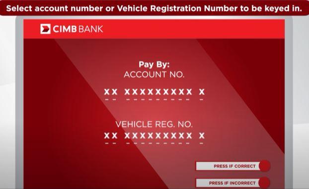 Account Number CIMB