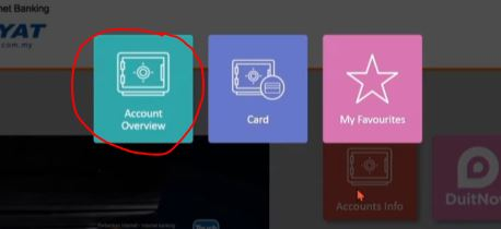 Accounts Overview