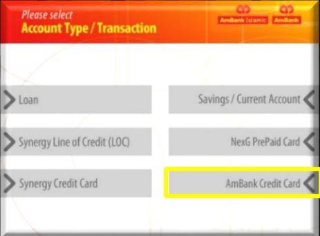 AmBank Credit Card