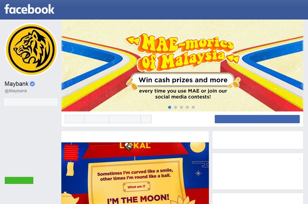 Cara Aktifkan Semula Akaun Maybank via Facebook