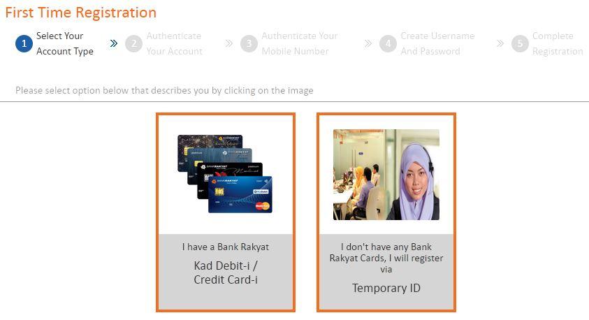 Cara Daftar Bank Rakyat Online Banking