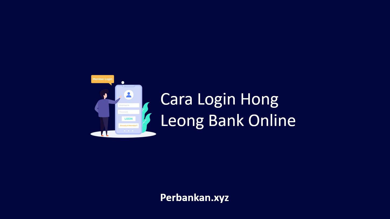 Cara Login Hong Leong Bank Online