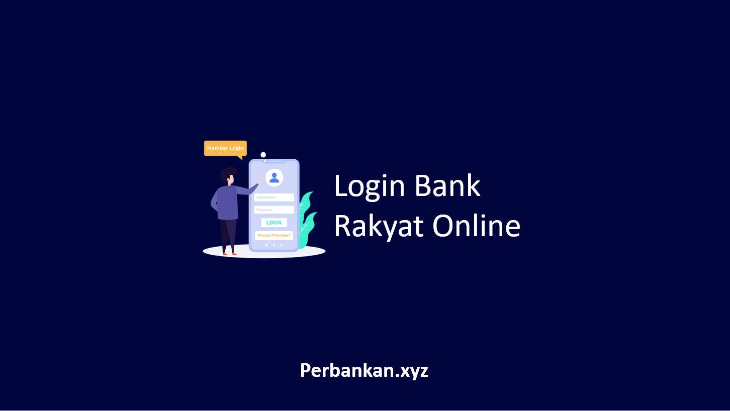 Login Bank Rakyat Online