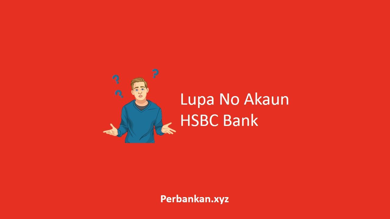 Lupa No Akaun HSBC