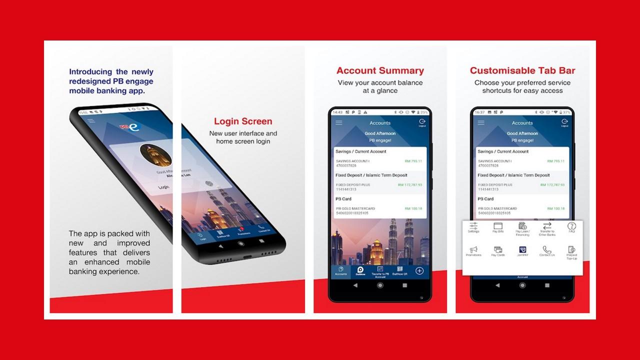 Lupa No Akaun Public Bank via App