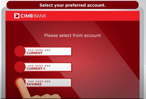 Savings CIMB