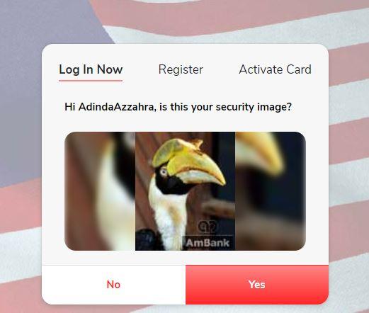 Security Image Ambank