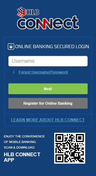Username HLB Connect