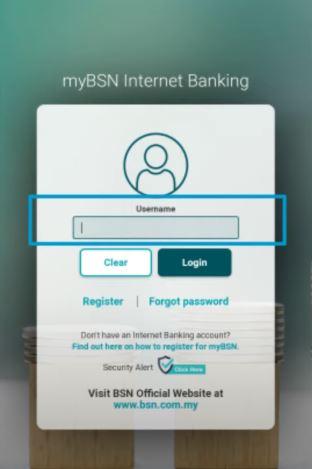 Username myBSN