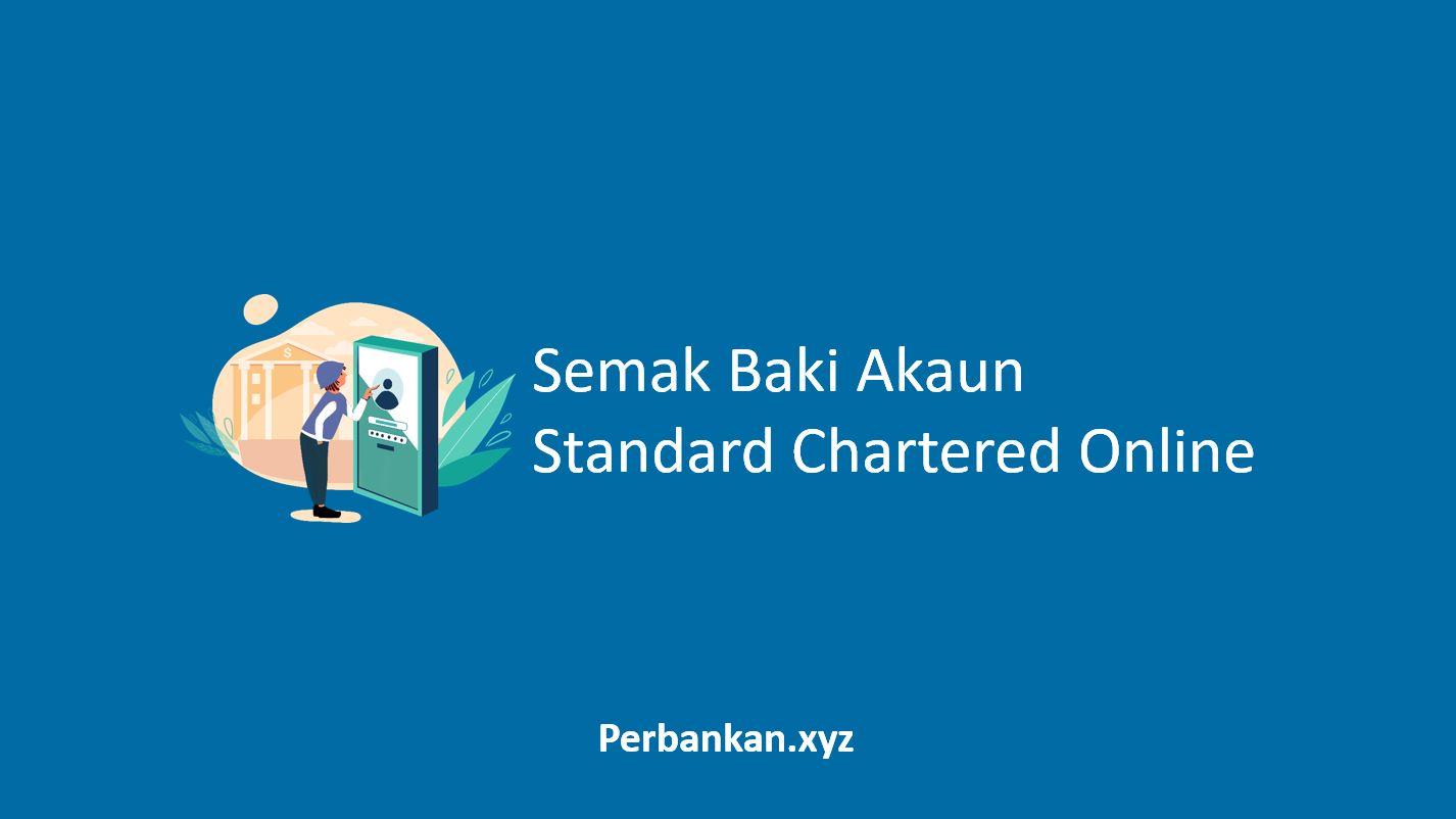 Semak Baki Akaun Standard Chartered Online